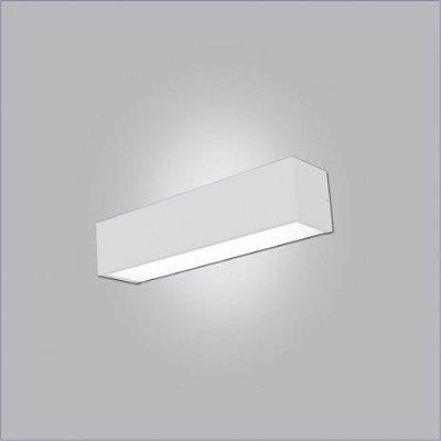 ARANDELA Usina Design RetangularTROPICAL com 02 DIFUSOR 4009/125F Sala Estar Cozinhas 2T8 120CM 1280x120x95