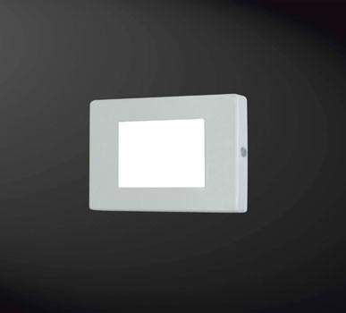 BALIZADOR Usina Design RODAPÉ FOSCO 4X2 Amb. Externo 5206/1 Sala Estar Banheiros Lavabos Quartos 1xPCI LED 5W 110 220V 125x85x45