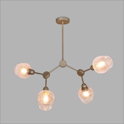 PENDENTE Usina Design NEUTRON 16320/4 Quartos Sala Estar Cozinhas 4 E27 G45 840x780alt Total