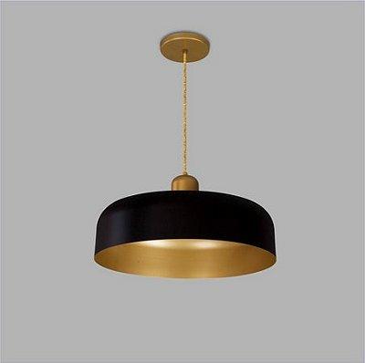 PENDENTE Usina Design PRISA sem DIFUSOR 16060/60 Quartos Sala Estar Cozinhas 1 E27 Ø600X110X1000
