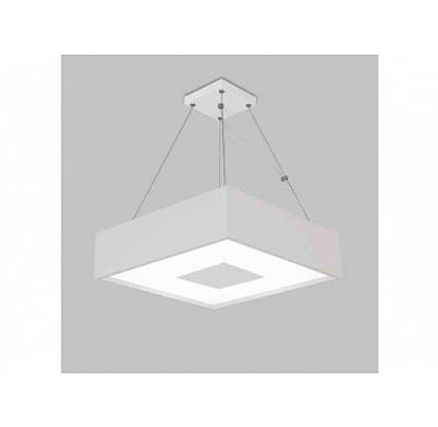 PENDENTE Usina Design QUADRADA DONNA 4096/38 Sala Estar Cozinha Quartos 4 E27 380x380x120