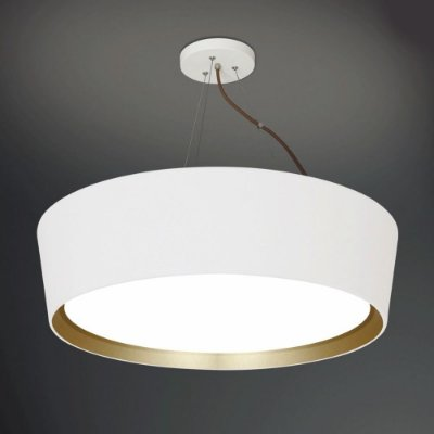 Pendente Usina Design Redondo Moderno Decorativo Comercial Cozinha Saguão Ø65 Branco Sala 4101/65 Onix - Usina Design