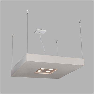 PENDENTE Usina Design RETANGULAR BORE CH 4604/75 Sala Estar Cozinhas Quartos 4 T8 60 cm 04 GU10 MR16 300X750X70