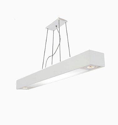PENDENTE Usina Design Retangular TROPICAL 4016/65F Sala Estar Cozinhas 4 T8 60CM 150X650X120