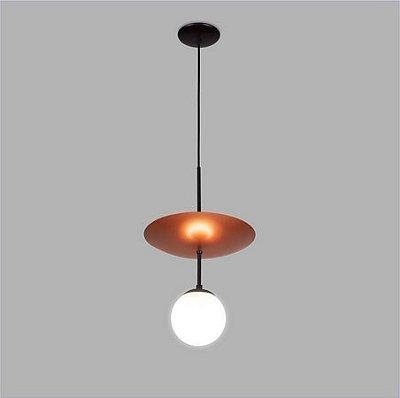 PENDENTE Usina Design UNNO 16335/1 Quartos Sala Estar Cozinhas 1 E27 G45 Ø300x1140