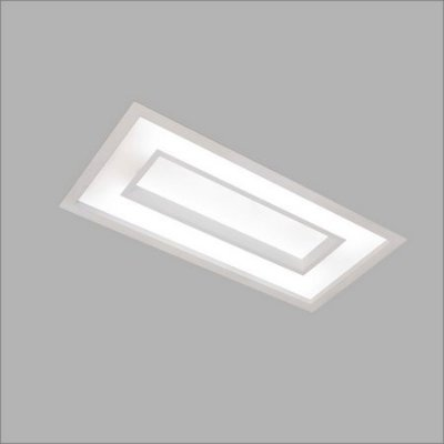 Plafon EMBUTIDO Usina Design CHERRY 305x1235x100 4543/125 Sala Estar Cozinhas Quartos 4 T8 120CM 325x1260x100