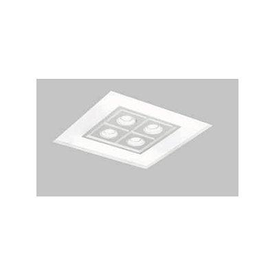 Plafon EMBUTIDO Usina NO FRAME FOCUS 470x470x100mm 30601/50 Gesso Sanca 8xE27 4GU10 MR16 480x480x100