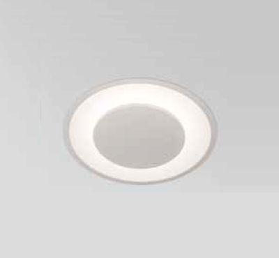 Plafon Newline Iluminação Iris Embutir Metal Acrílico Branco 14,7x28cm PCI LED 18W 2700K 440LEDBT Sala Quarto e Cozinha