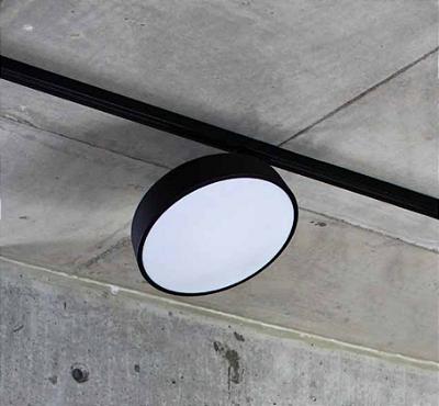 Plafon Newline Iluminação Victoria Redondo Sobrepor Metal Acrílico 9,5x29cm 1x E27 25W Bivolt 110v 220v 160APPT Sala Quarto e Cozinha
