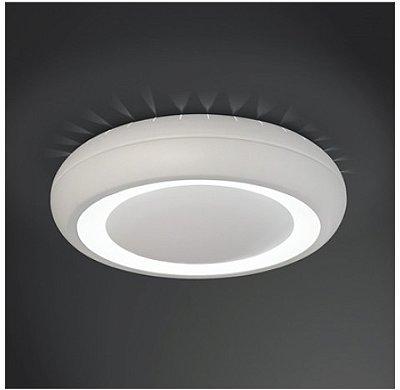 PLAFON Usina Design REDONDO VENUS LUX 4168/40 Sala Estar Cozinhas Quartos 2 E27 Ø 400X100