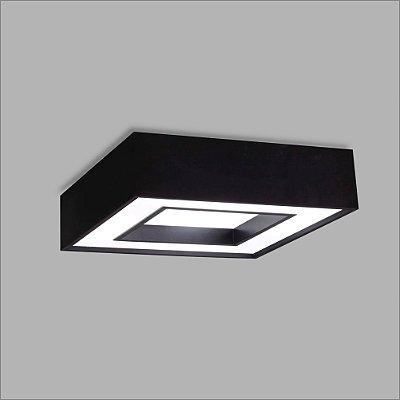 PLAFON Usina Design RETANGULAR CHERRY 4540/70 Sala Estar Cozinhas Quartos 8 E27 350x700x120