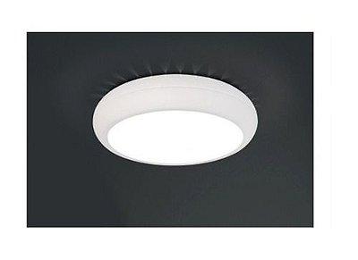 Plafon Usina Design Sobrepor  acrílico leitoso Texturizado Redondo Ø50 Ring Lux E-27 4195/50 Sala Estar Cozinhas