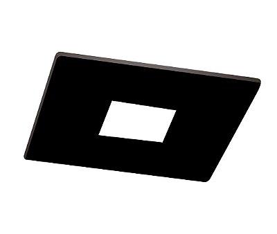 Spot Newline Lisse Pin Hole Embutido Quadrado Alumínio 6,3x7cm  1x GU10/GZ10 LED IN50931PT Salas e Cozinhas