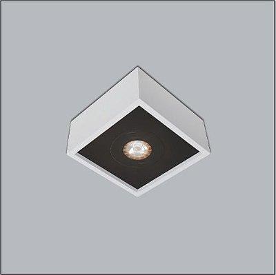 Spot Usina Design Quadrado Premium Sobrepor Closet Sala Par20 Sala 4501/11 Usina Design