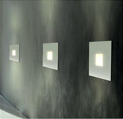 Arandela Golden Art Amb. Interno Aço Metal Fosco Quadrada Luz Vazada 30x30 G9 P744 Entradas Quartos