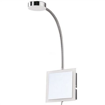 ARANDELA Mantra Co 30065 Branca Cromada    LED Embutido Articulavel D 11cm x H 44cm x P 30cm