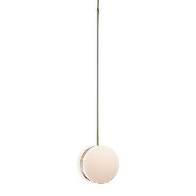 PENDENTE Klaxon Iluminação Time Pendurado Esfera Bola Vidro Moderno28 cm x 127 cm x 17 cm