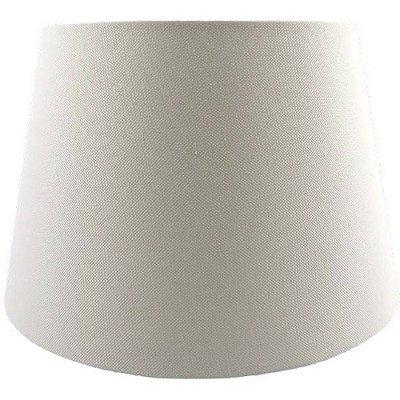 CUPULA para Abajur Bella Ilumy AL003W LINEN 45cm x 39cm x 60cm OFF WHITE