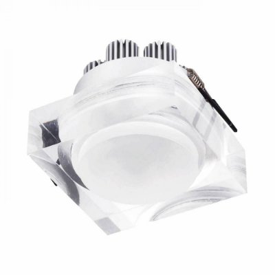 SPOT Bella Ilumy EMBUTIDO Transparente Quadrado LG8570 MAT 1XLED 3W TR