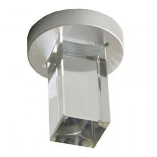 SPOT Bella Ilumy YD262Q EMBUTIDO Quadrado FINE Cubo de Vidro Transparente 1XLED 1W