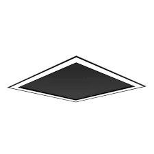 Plafon EMBUTIDO Newline NLN FIT EDGE Led Quadrado Moderno EM0121LED4 16,8W 4000K Luz Fria 127/220V 230X230X40MM
