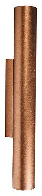 ARANDELA FINI 5805/2 Usina Iluminação Tubular Moderna Aluminio x  Ø3,8x30cmx6cm x 2xMR11