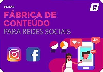 Fábrica de Conteúdo para as Redes Sociais - 25/05