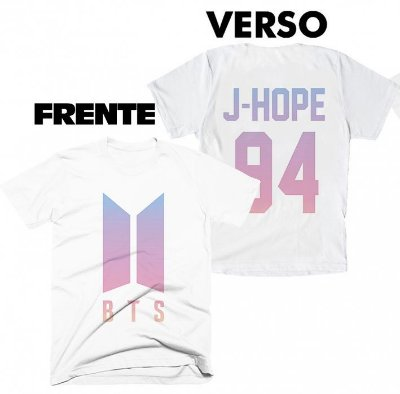 Camiseta BTS - Team J-Hope