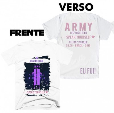 Camiseta BTS Speak Yourself Tour Brasil - 14