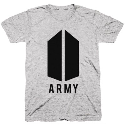 Camiseta BTS ARMY -