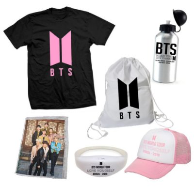 Kit BTS World Tour 7