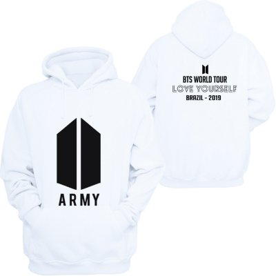 Moletom BTS ARMY - World Tour - -