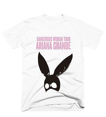 Camiseta Ariana Grande - Dangerous Rosa