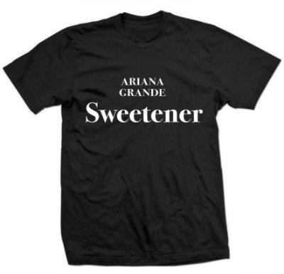 Camiseta Ariana Grande – Sweetener
