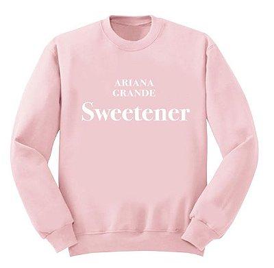 Moletom Rosa Ariana Grande – Sweetener