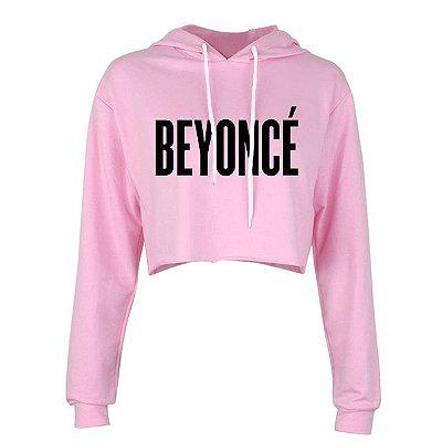 Moletom Cropped Beyoncé