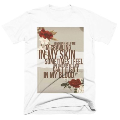 Camiseta Shawn Mendes -In My Blood - Lyric