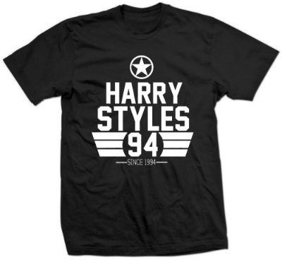 Camiseta Harry Styles - since 1994