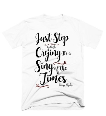 Camiseta Harry Styles – Sing of the Times