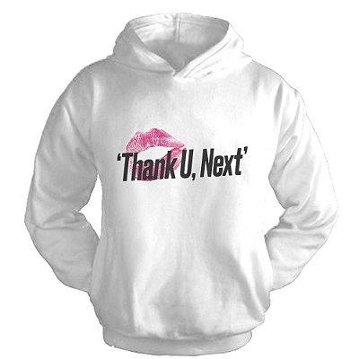 Moletom Ariana Grande - Thank U, Next --