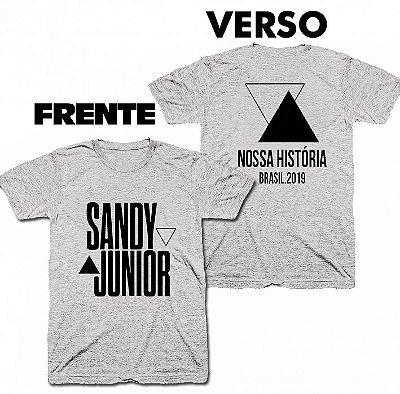 Camiseta Sandy e Junior - Nossa História 05