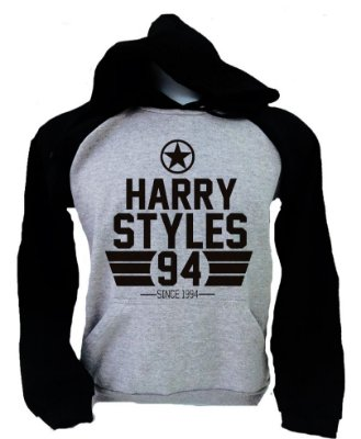 Moletom Raglan Harry Styles - Since 1994