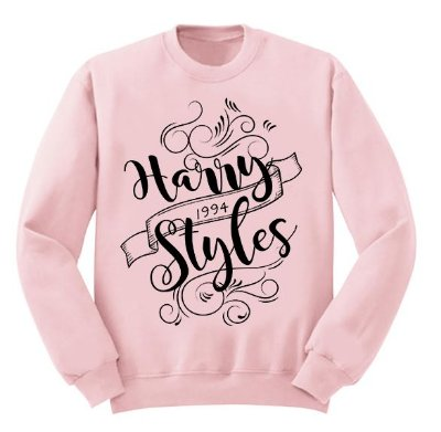 Moletom Rosa Harry Styles 2017 - 3