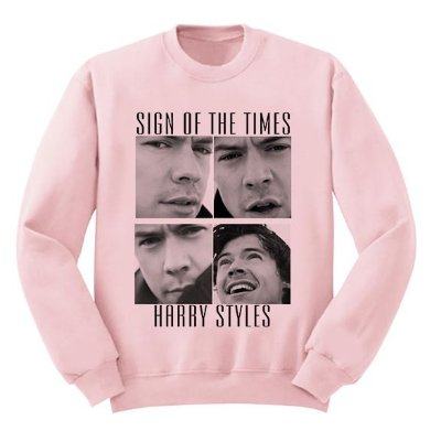 Moletom Rosa Harry Styles 2017 - 1