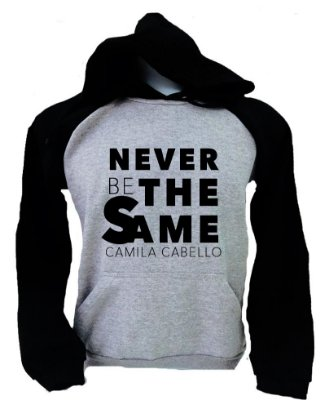 Moletom Raglan Camila Cabello - Never Be The Same 2