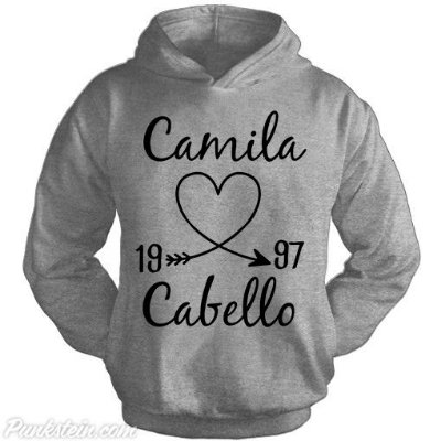 Moletom Camila Cabello 1997