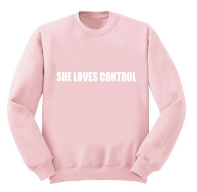 Moletom Rosa Camila Cabello – She Loves Control