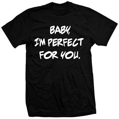 Camiseta One Direction – Baby Im Perfect