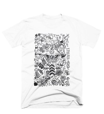 Camiseta One Direction – Tattoos