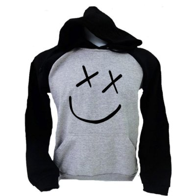 Moletom Raglan Louis Tomlinson – Miss You – Smile